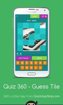 Quiz 360 - Guess Tile poster