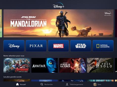 Disney+ capture d'écran 12