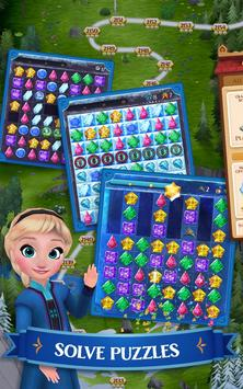 Disney Frozen Free Fall - Play Frozen Puzzle Games 截图 5