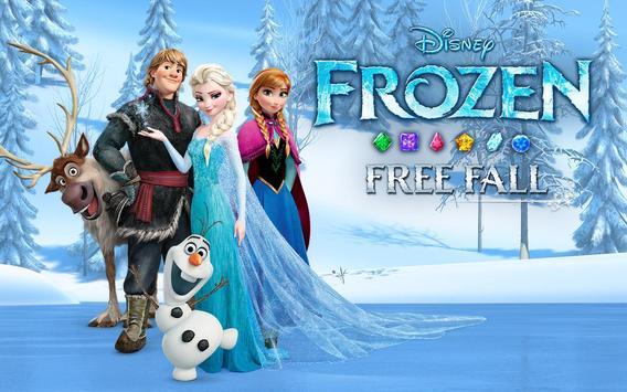 Disney Frozen Free Fall - Play Frozen Puzzle Games 截图 4