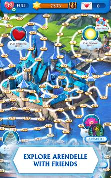 Disney Frozen Free Fall - Play Frozen Puzzle Games 截图 3