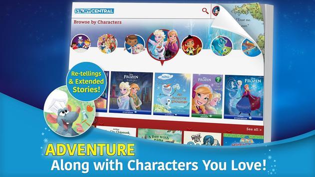 Disney Story Central screenshot 1