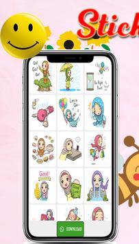 WAStickerapps -Hijab Islamic Stickers for WhatsApp screenshot 3
