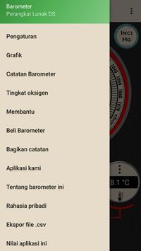 Barometer - Altimeter dan informasi cuaca syot layar 11