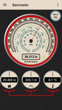 Barometer - Altimeter dan informasi cuaca syot layar 2