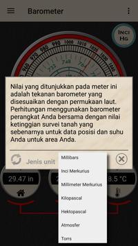 Barometer - Altimeter dan informasi cuaca syot layar 7