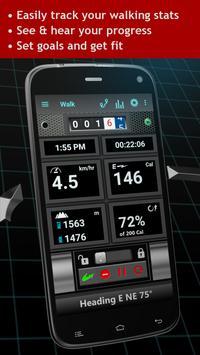 Walking Odometer Pro capture d'écran 1