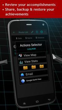 Walking Odometer Pro capture d'écran 4