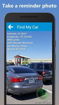 Find My Car screenshot 1