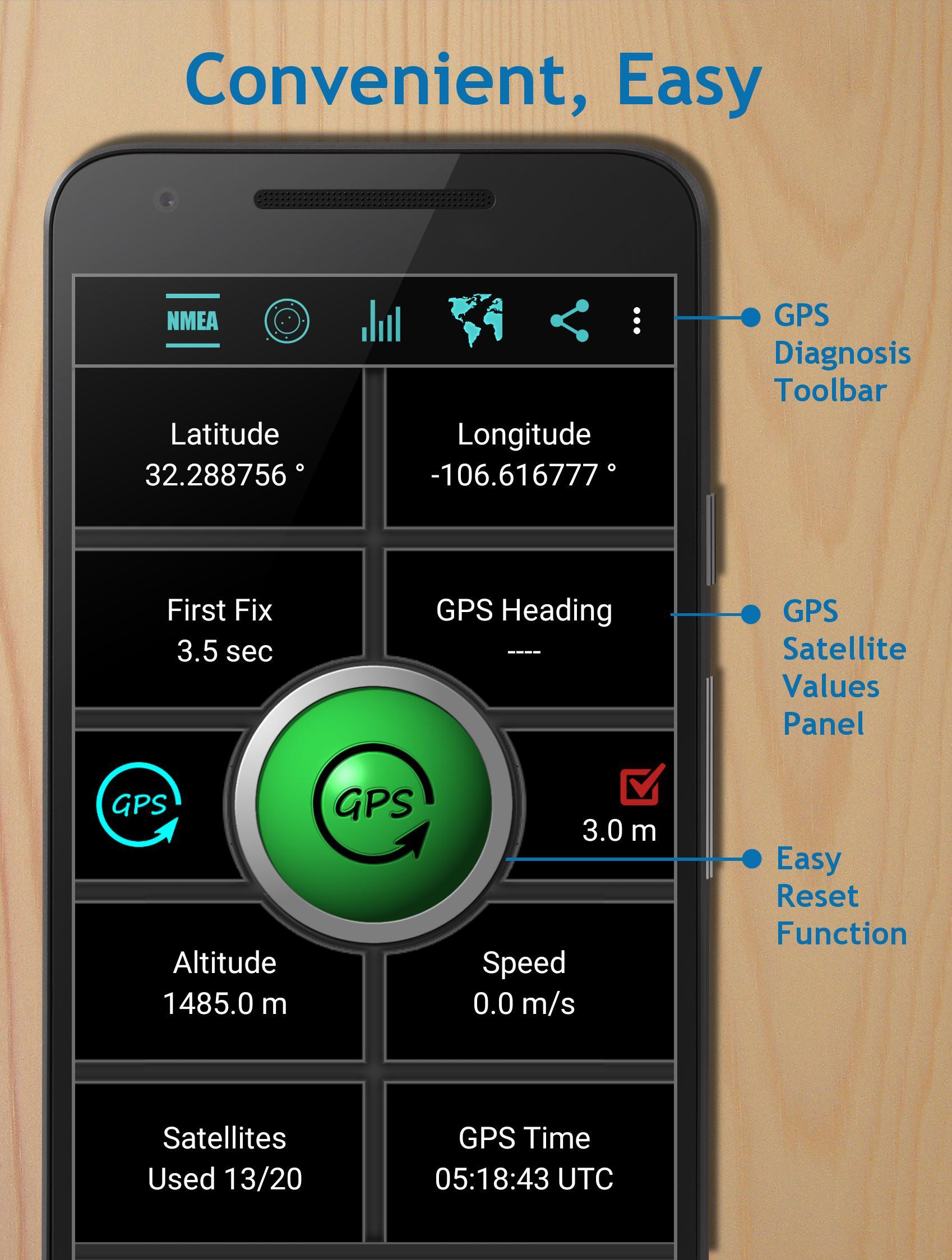 GPS Reset COM - GPS Repair, Navigation & GPS info for