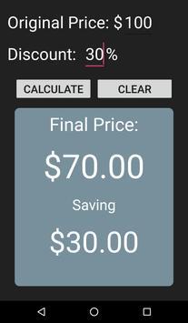 Discount Calculator screenshot 1