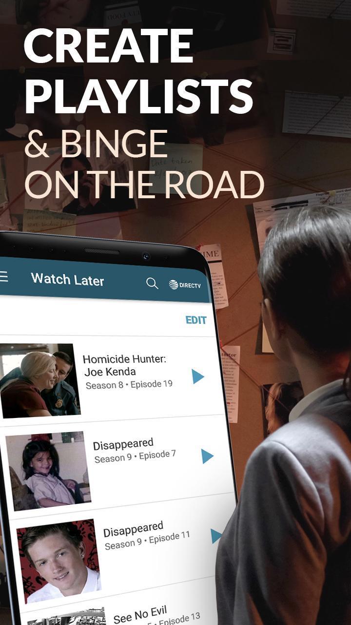 Investigation Discovery GO: Stream True Crime Live for