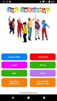 ESL KidStuff App poster