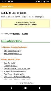 ESL KidStuff App screenshot 2