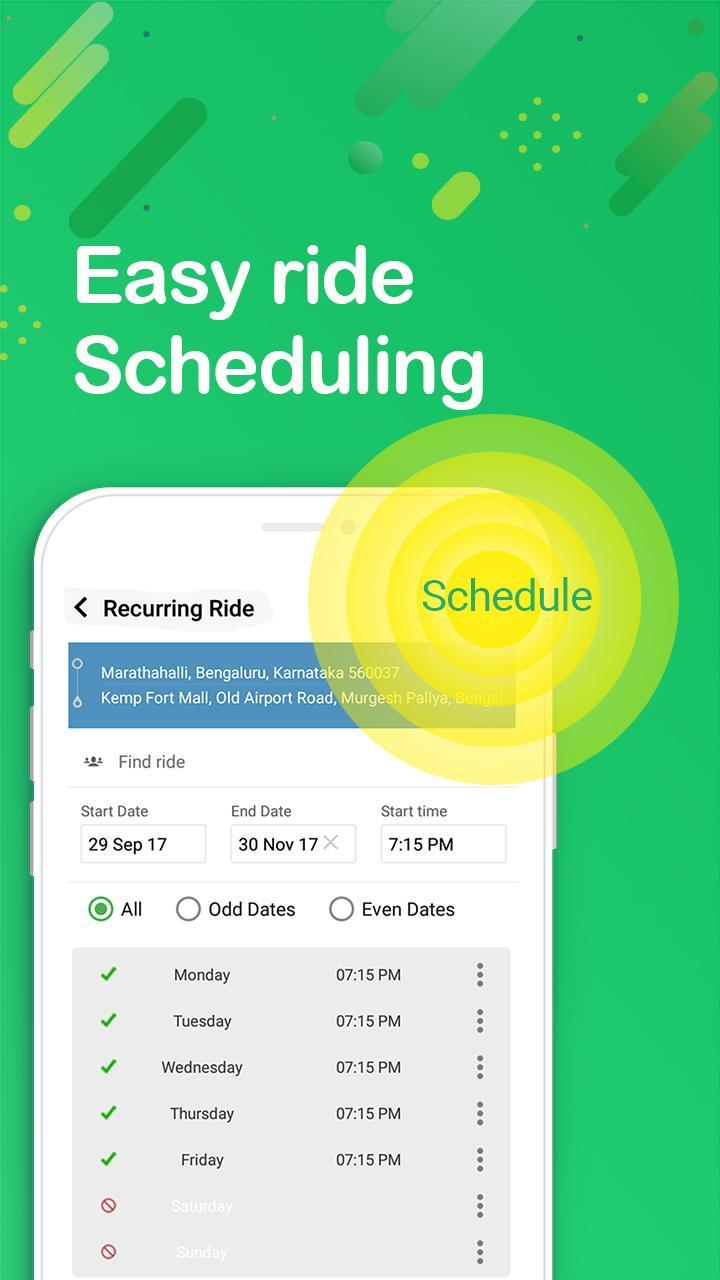 Quick Ride The Best Carpooling App In India For Android Apk Download