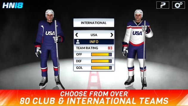 Hockey Nations 18 screenshot 8