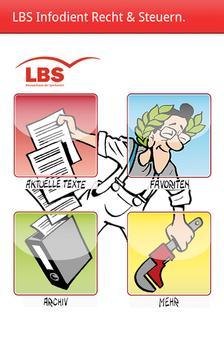 LBS Infodienst Recht & Steuern poster