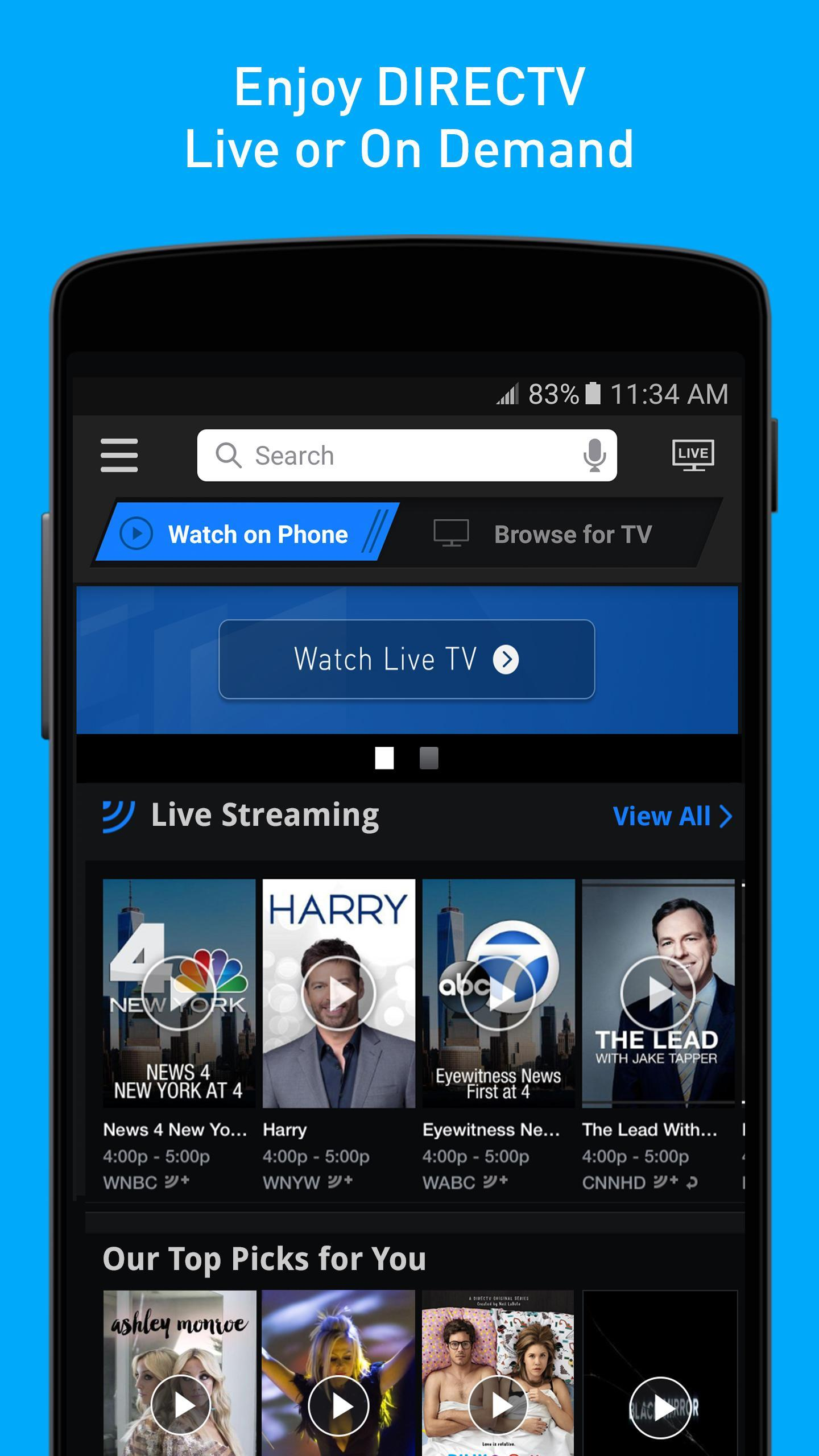 DIRECTV for Android - APK Download