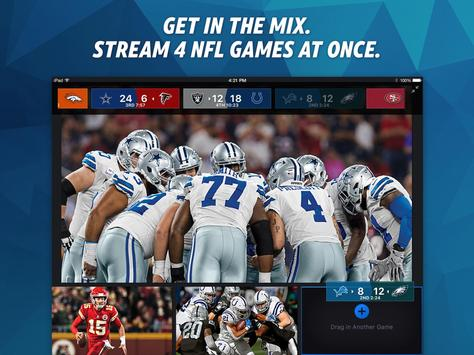 NFL Sunday Ticket for TV and Tablets poster