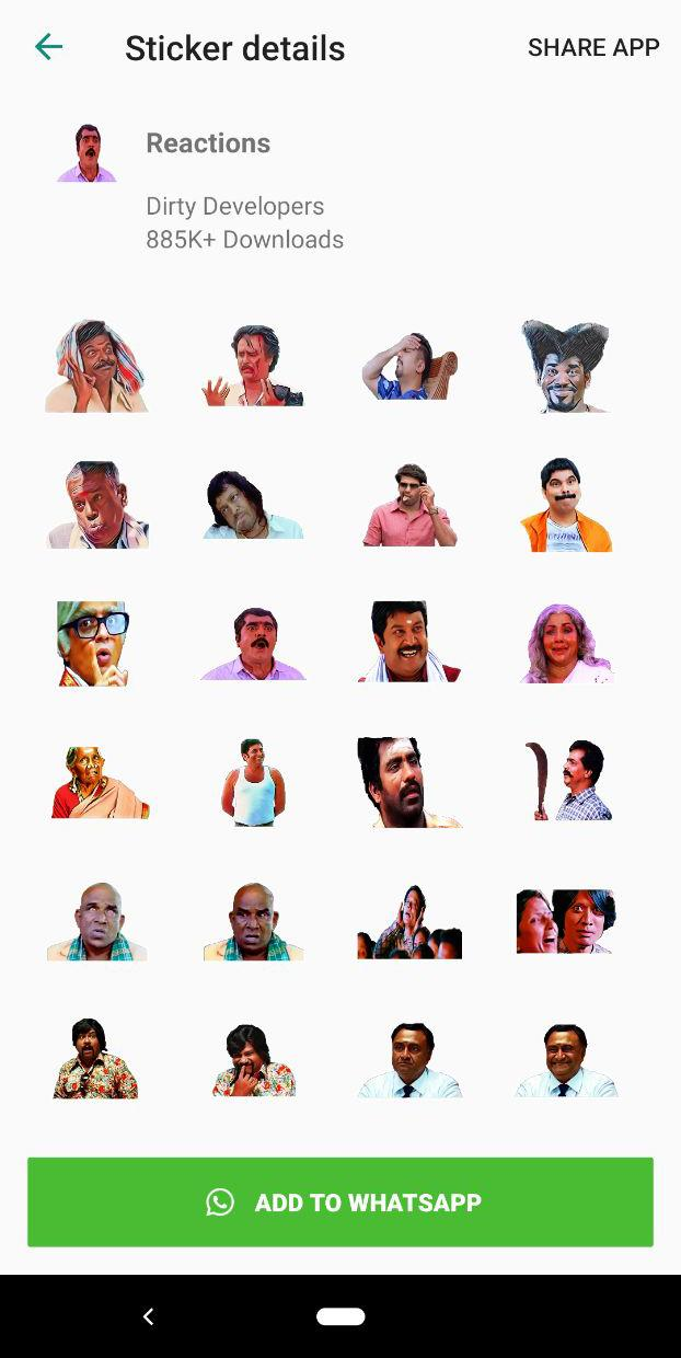 Tamil Stickers for WhatsApp (WAStickerApp) for Android - APK