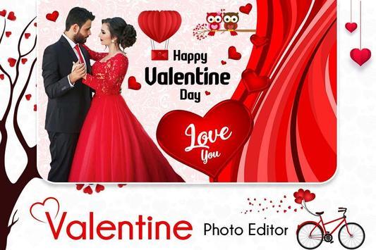 Valentine Photo Maker poster