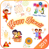 Stickers for WhatsApp –WASticker for New Year 2019 icon