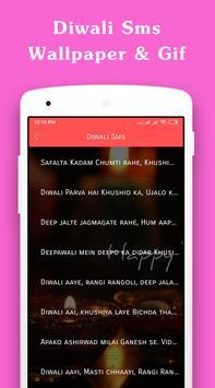 Diwali Sms Wallpaper Gif of 2018 screenshot 1
