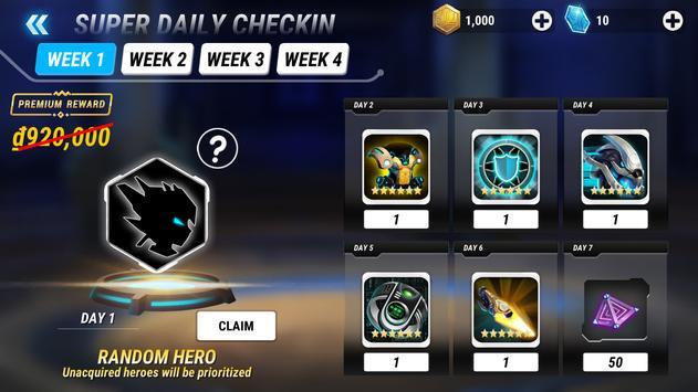 Heroes Infinity Premium Plakat