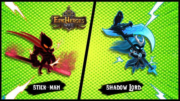 Epic Heroes War: Shadow Lord Stickman - Premium screenshot 2