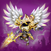Epic Heroes: Action + RPG + strategy + super hero Zeichen