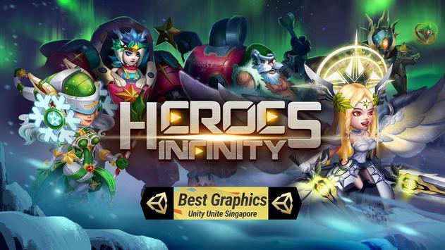 Heroes Infinity 截圖 2