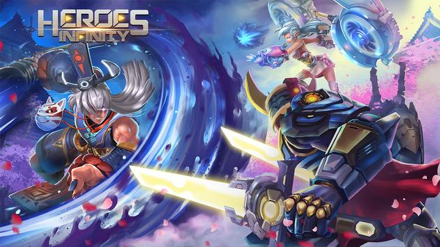 Heroes Infinity تصوير الشاشة 5
