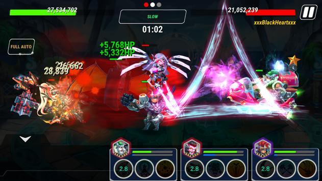 Heroes Infinity تصوير الشاشة 1
