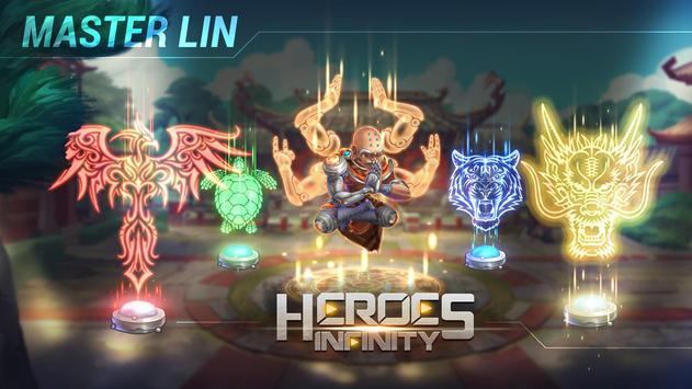 Heroes Infinity تصوير الشاشة 10
