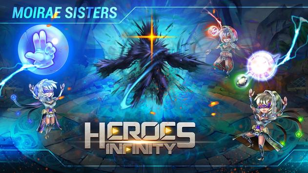 Heroes Infinity تصوير الشاشة 12