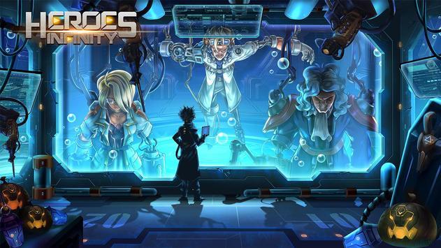 Heroes Infinity 截圖 8