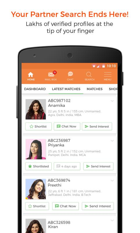 No 1 and Official DivorceeMatrimony App for Android - APK