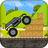 Car Ramp Jumper In Mountain icon