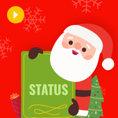 Happy Christmas Video Status 2018 icon