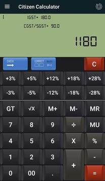 CITIZEN & GST CALCULATOR screenshot 1