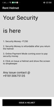 Rent Helmet | Your Security screenshot 1