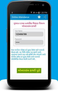 Online Attendance Gujarat screenshot 4