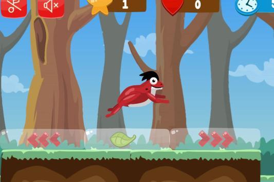 Flip frog - kid game, jump, flip and escape! screenshot 3