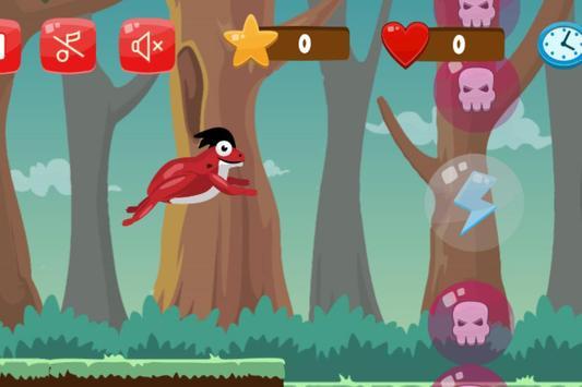 Flip frog - kid game, jump, flip and escape! screenshot 4