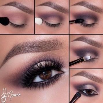 eyebrow make up tutorials poster