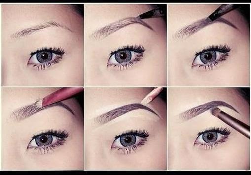 eyebrow make up tutorials screenshot 10