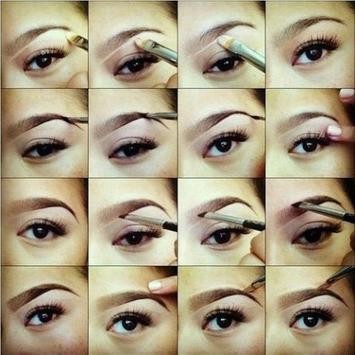 eyebrow make up tutorials screenshot 1