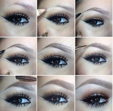 eyebrow make up tutorials screenshot 4