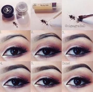 eyebrow make up tutorials screenshot 8