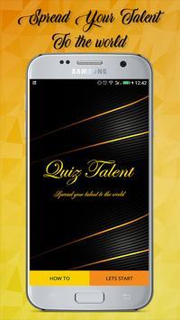 Quiz Talent poster